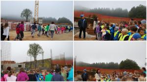 Obisk gradbišča nove šole