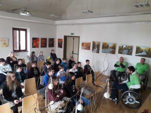 Srečanje z Društvom paraplegikov ljubljanske pokrajine