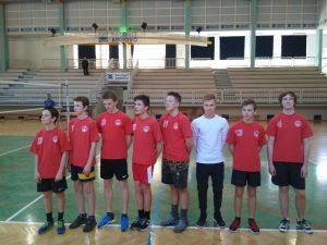 Četrtfinalno državno tekmovanje v odbojki za fante