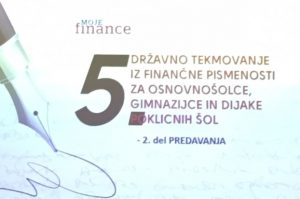 Državno tekmovanje v finančni pismenosti za mlade