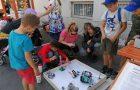 Stojnici OŠ s prilagojenim programom in OŠ Brinje na dogodku Grosuplje v jeseni
