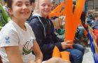 Učenci glasno navijali na tekmi ACH volley